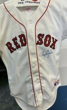 ROGER CLEMENS SIGNED BOSTON RED SOX JERSEY COA 75TH FENWAY ANNIVERSARY