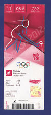 Orig.Ticket   Olympic Games LONDON 2012 - HOCKEY  11.Place  SOUTH AFRICA - INDIA