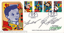 1989 Games & Toys - Covercraft Official - Signed by DEREK GRIFFITHS