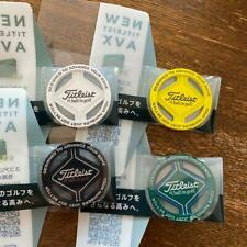 Titleist Golf Ball Marker Set of 4 Yellow/Green/White/Black Not sold in stores