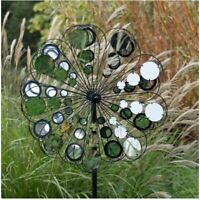 Jonart Designs-Reflection Wind Sculpture Black WINDSPINNER Sp575
