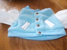 Herrington Teddy Bears Letterman'S Jacket (Light Blue & White)