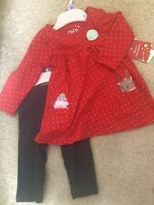 Baby Girl Christmas Outfit 3-6M