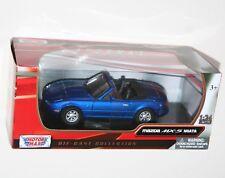 Motor Max - MAZDA MX-5 MIATA (Metallic Blue) - Model Scale 1:24