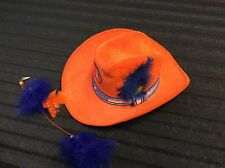 Logo DENVER BRONCOS RARE VINTAGE COWBOY HAT ORANGE CRUSH 70s-80s