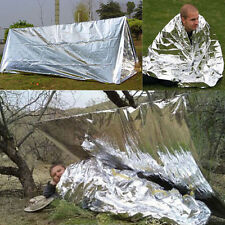 Outdoor Folding Emergency Blanket/Sleeping Heating Survival Camping Tent Shelter