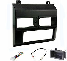 Dash Install Kit Car Stereo Radio Mounting Panel Bezel Trim Mount Black Pkg