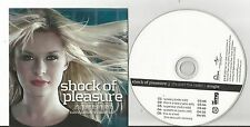 Shock of Pleasure - It's Just the Radio US CD Promo EP 5 trx  VG+ to EX cond. D