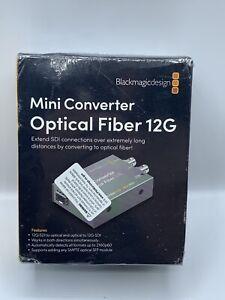 Blackmagic Design CONVMOF12G Mini Converter - Optical Fiber 12G