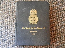Old Vintage 1957 Wisconsin Consistory Valley Milwaukee Class Book Ill Benj FP...