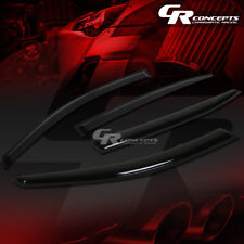 SMOKED CAR WINDOW VISOR/WIND DEFLECTOR VENT RAIN SHADE FOR 13-17 ACCORD SEDAN