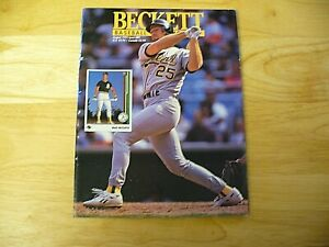 Beckett Baseball Card Monthly Magazine - August 1992 (Mark McGwire) - VINTAGE