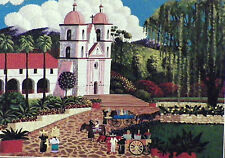 PUZZLE ..HERONIM.Santa Barbara Mission.1000...Nvr opned