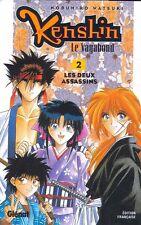 KENSHIN LE VAGABOND tomes 1 et 2 Watsuki new MANGA shonen