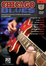 Chicago Blues Guitar Lessons Play Along Dvd New
