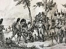 Napoléon Bonaparte Empire bataille napoléonienne empereur Maréchal Lannes 1837