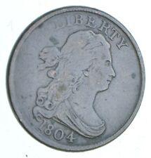 1/2c - HALF CENT - 1804 Draped Bust United States - Half Cent *413