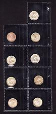 1926 Straits Settlements 5 Cents KM# 36  Silver Coin aUNC+