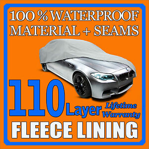 110 Layer Car Cover Outdoor Waterproof Scratchproof Breathable 60 70 80 90 100 A