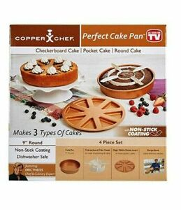 NEW Copper Chef Perfect Cake Pan (As Seen on TV)