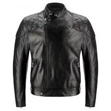 Genuine Belstaff Ivy Blouson Leather Motorcycle Motorbike Jacket Black SALE