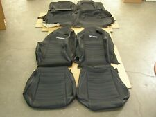 OEM Ford 2015 2018 Mustang Recaro Seat Covers New T/O Interior 2016 2017 Set nos