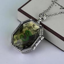 Harry Potter Prop Slytherin Horcrux Locket Pendant Necklace Lord Voldermort Xmas