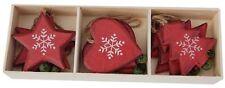 Heaven Sends Christmas Decorations - Scandi Assortment - Rustic Tree Decoration