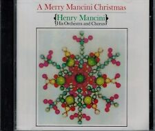 HENRY MANCINI - ORCHESTRA & CHORUS - A MERRY MANCINI CHRISTMAS  - NEW SEALED CD