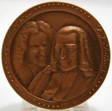 MEDAILLE LOISEL POTHIER NOTAIRES signée MERELLE bronze XXe datée 1975