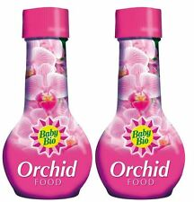 2 X Bébé Bio Orchid Plant Food Feed Engrais Fleurs Jardin Jardinage - 175 ml