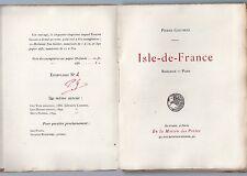 PIERRE GAUTHIEZ ISLE-DE-FRANCE BANLIEUE PARIS 1901 EO Ex n°2 du GRAND PAPIER