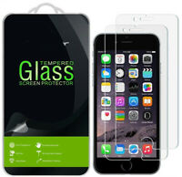 Screen Protector Real Tempered Glass Film for iPhone 8 8Plus X 6 6s 7 7s 1/3Pack
