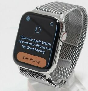 Apple Watch Series 5 Stainless Steel Case 44mm (GPS + Cellular) A2095
