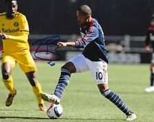 Teal Bunbury signed New England Revolution 8x10 photo autographed MLS Soccer