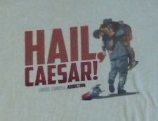 HAIL CAESAR! Lights Camera Abduction Movie T-Shirt Soft Large New George Clooney