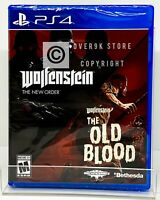 Wolfenstein: The Two-Pack - PS4 - Brand New | Factory Sealed