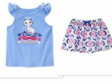 NEW GYMBOREE Desert Dreams  Cat  Two Piece Outfit  SIZE 18-24 MONTHS