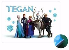 Frozen Group A Personalised Placemat - EVA Sponge Backed - Wipe Clean Front