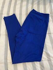 lularoe tc leggings solid Royal Blue color