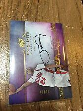 2013/14 UD Exquisite Paul George #/65 Signatures #ES-PG AUTO Autograph Pacers