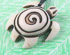 swirl turtle antiqued white color Tibetan Imitate  design charms 2pc lot NO CORD