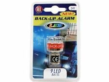 Reversing Beeper Alarm Warning 9 LED Light Bulb Back Up Van Trailer Caravan 24V