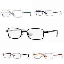 Ray-Ban Kid's Rectangular Metal Eyeglass Frames RB1037 $100 NEW