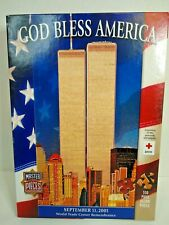 God Bless America JigSaw Puzzle  box Damage Bag Sealed  USA made