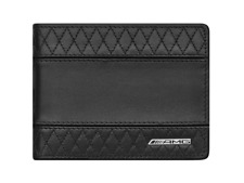 Genuine Mercedes Benz AMG 100% Cowhide Wallet C63 E63 GLE63 S63 SL63 G63