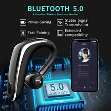 Bluetooth Headset V5.0,cocoLevis Hands Free Headset Wireless Business Bluetooth