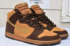 10 2004 NIKE SB DUNK Brown Pack maple hay baroque suede vtg qs low high mid pro