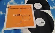 Various – Inside! - Celebrating The Best In British Soul**SOUL/FUNK UK DBL LP