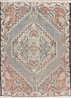 Geometric Traditional Hand-Knotted Wool Area Rug Oriental 2 x 3 Medallion Carpet